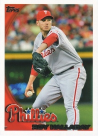 2010 Topps Complete Set Halladay Front