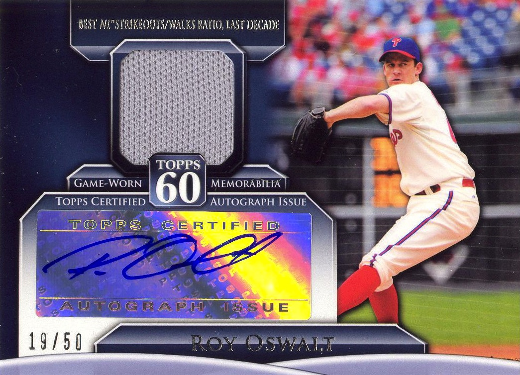 Roy Oswalt Autograph on The Roy Oswalt Front