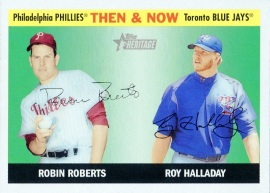 2004 Topps Heritage TN Roberts Front