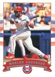 2002 Fleer Anderson Front