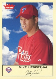 2005 Fleer Tradition Lieberthal Front