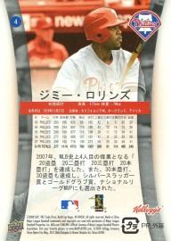 2008 Kellogg Japan Rollins Back