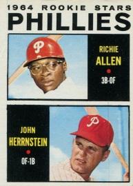 1964 Topps Allen Herrnstein Front