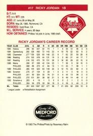 1993 Medford Jordan Back