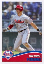 2013 Topps Young Sticker Front