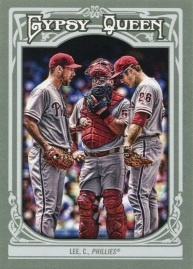 2013 Topps Gypsy Queen Lee Variant Front