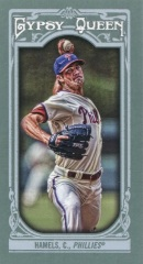 2013 Topps Gypsy Queen Mini Hamels Var Front