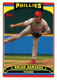 2006 Topps Phillies Fan Appreciation Sanches Front
