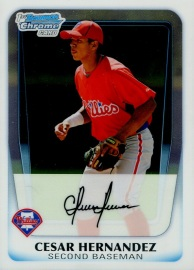 2011 Bowman Chrome Prospects Hernandez