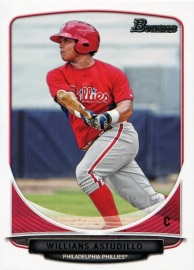 2013 Bowman Prospects Astudillo Front