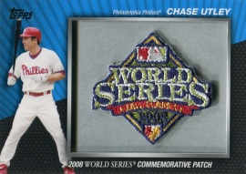 2010 Topps Commemorative Patch Utley