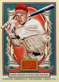 2013 Panini Golden Age Ashburn