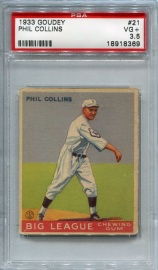 1933 Goudey Collins