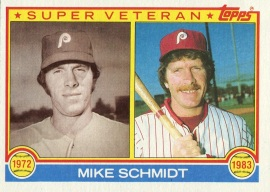 1983 Topps SV Schmidt