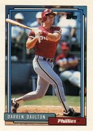 1992 Topps Daulton