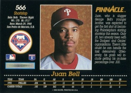 1993 Pinnacle Bell Back