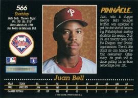 1993 Pinnacle Bell Back