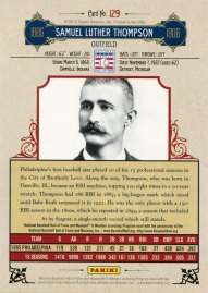 2012 Cooperstown Thompson Back