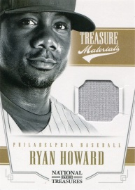 2012 National Treasures TM Howard