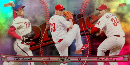 2013 Topps Archives Triumvirate