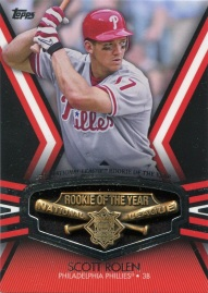 2013 Topps ROY Award Winner Rolen