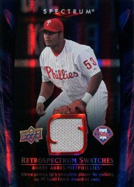 2008 Spectrum RS Abreu Front