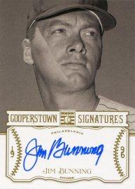 2013 Cooperstown Signature Bunning
