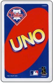 2005 Uno Phillies Back