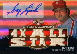 2012 Triple Threads Luzinski