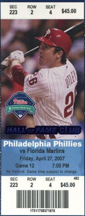 2007 Ticket Utley