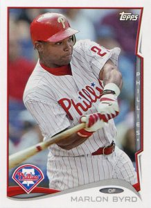 2014 Topps Phillies Byrd