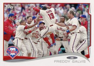 2014 Topps Phillies Galvis
