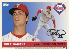 2014 Topps Phillies 60th Hamels