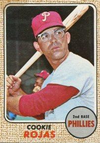 1968 Topps Rojas