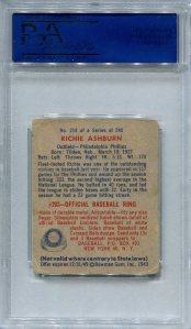 1949 Bowman Ashburn Back