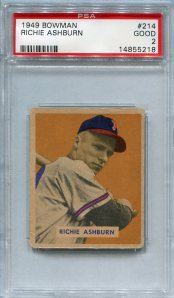 1949 Bowman Ashburn