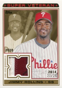 2014 Topps SV Relic Rollins