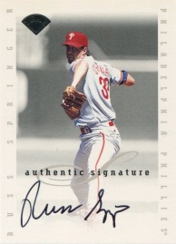 1996 Leaf Sign Springer