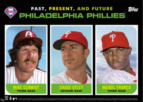 2015 Topps Past Present Future Phils