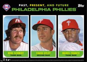 2015 Topps Past Present Future Phils